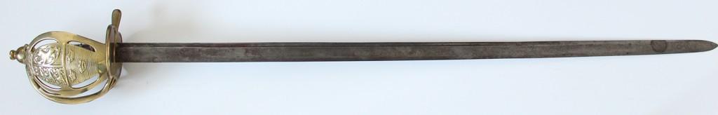 Dansk sabel M/1797 - Rytterpallask
