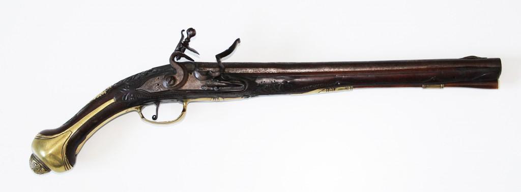 Flintelåspistol 1745