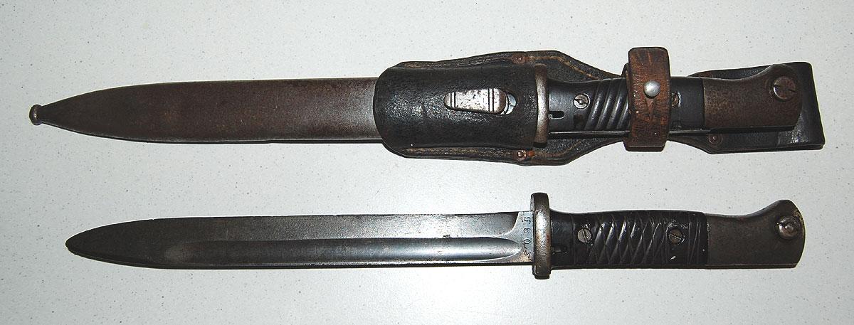K98 Mauser bajonetter