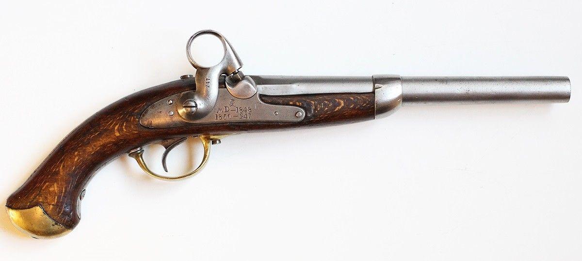 Dansk Ringhanepistol Kronborg M1848